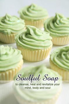 Cupcake Soap  Baby / Bridal / Wedding Favors by SoulFulSoapCa, $100.00