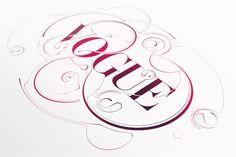 Vogue by Anton Shilinets, via Behance