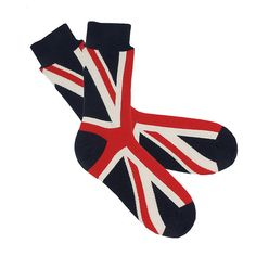 patriotic socks by the gorgeous company | notonthehighstreet.com