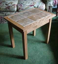 Mission Style End Tables Custom Made Tile Top Table Art I Heart Pinterest Furniture Living Room Arrangements And