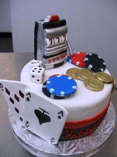 #casino I #gambling #cake Ideas