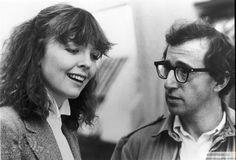 """Diane Keaton with Woody Allen in """"Manhattan"""" (1979)"""