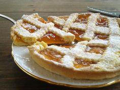 crostata alla marmellata di albicocche – Delizie di nonna papera Apple Pie, Waffles, Breakfast, Desserts, Recipes, Food, Eten, Morning Coffee, Tailgate Desserts