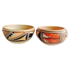 Hand-Made Tribal Bowls (85 NZD) ❤ liked on Polyvore featuring home, home decor, decorative bowls, handmade bowl, african home decor, black bowl, onyx bowl and black home decor