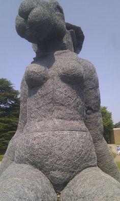 Sitting - Sophie Ryder #Yorkshire Sculpture Park