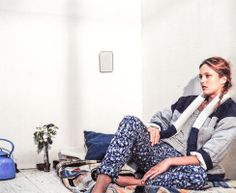 Isabel Marant Etoile Spring/Summer 2014  DELMA coat + FAXON t-shirt + MAEL pants + USTON belt