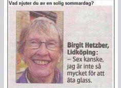 Vad njuter du av en solig sommardag? Bara i Lidköping liksom.