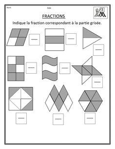 Découvrir les fractions en CM1 : un pack de fiches
