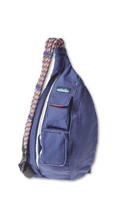 Kavu Rope Bag – Ink Blue | CrossRoads Online