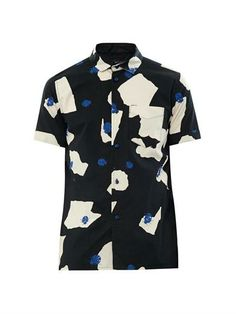 Ladybird-print cotton shirt | Marc by Marc Jacobs | MATCHESFAS...