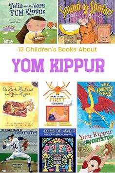 """These books explore both the rituals of Yom Kippur and the spirit behind it: one of saying """"I'm sorry,"""" making amends, and moving forward in love. Whether you observe Yom Kippur or just want to learn, I think you'll enjoy these books! Best Children Books, Books For Teens, Childrens Books, Read Aloud Books, Good Books, Jewish High Holidays, Feminist Books, Fallen Book, Yom Kippur"""