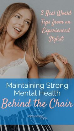 Maintaining Strong Mental Health Behind the Chair Hair Color Caramel, Ombre Hair Color, Hair Color Balayage, Sleep Hairstyles, Spring Hairstyles, Cool Hairstyles, Curly Hair Cuts, Curly Hair Styles, Dry Brittle Hair