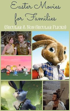 Looking for good family friendly Easter movies? Check out 7 of our favorite secular and non-secular picks for your spring break movie nights!