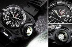Luminox Wristlight Watch With 300 Lumens Flashlight