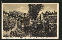 Aschersleben, Am Dammtor (Postkarte 1929)