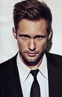 Alexander Skarsgard  as Naughty John in The Diviners by Libba Bray.