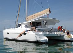 Charter catamaran Fountaine Pajot Lipari 41. 3 cabins 6+2 berths. Available for charter in France. Click here for more info and photos:  http://www.sailingeurope.com/en/yacht-catalogue/catamarans/5/1531/fountaine-pajot/lipari-41-(3-cab) #sailint #catamaran #France