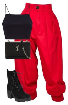 """Untitled #874"" by ayalikeschicken ❤ liked on Polyvore featuring Yves Saint Laurent"