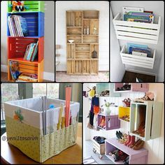 Great ways to use up old pallets