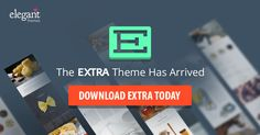 Get your copy of the most powerful #wordpress #theme Extra http://www.digitalgyd.com/elegantthemesdiscount