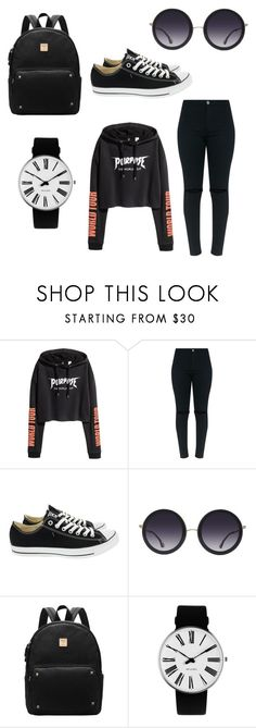 """""""Justin Bieber Purpose Tour ♡"""" by xesthermewex ❤ liked on Polyvore featuring Converse, Alice + Olivia and Rosendahl"""