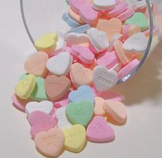 Heart Shaped Candy, Sold in 1kg packs
