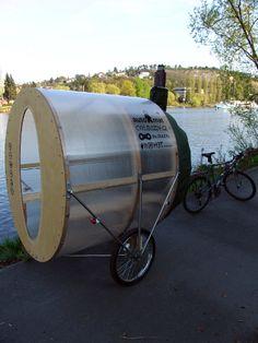 Vélo sauna des architectes tchèques de H3T Architekti