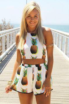 pineapple prints for summer