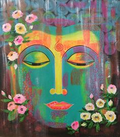 Buddha painting- Pop style  Available for sale!!