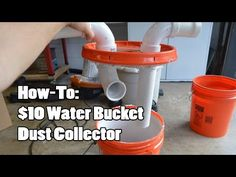 Cheapest DIY Dust Collection System - YouTube ( Need to make to take on the job  !!!)