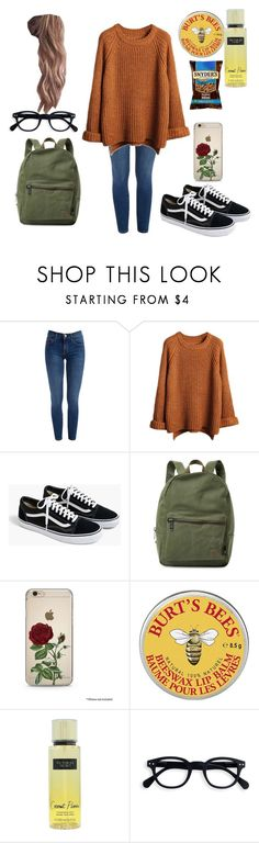 """Fall #4"" by haley-hetrick on Polyvore featuring J.Crew, Herschel Supply Co., Burt's Bees and Victoria's Secret"