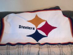 Pittsburgh Steelers - NFL - Afghan Crochet Graph Pattern Chart