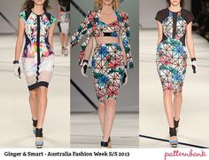Australian Fashion Week Spring/Summer 2013   Print & Pattern Highlights catwalks