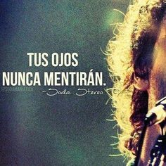 Siempre seremos.. Prófugos, los dos Soda Stereo ,Gustavo Cerati Song Quotes, Music Quotes, Qoutes, Soda Stereo, All Band, Short Words, Rock Songs, Motivational Phrases, Album Design