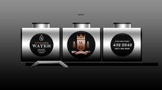 WHITE GOLD Distribution #brand #design #identity #logo #beesandvultures