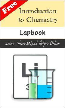 Free Chemistry lapbook | Homeschool Helper Online