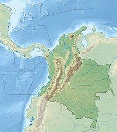 Sierra de la Macarena ubicada en Colombia