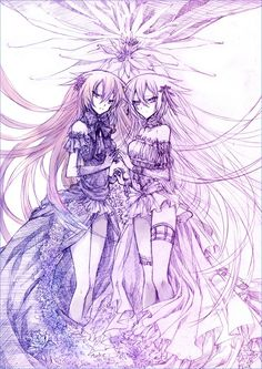 Alice and Alyss, or the Will of the Abyss. I love this piece of fan art...well done