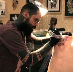 Fuck Yeah Blackwork Tattoos: Photo