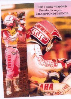 Jacky Vimond # motocross world champion 250cc 1986