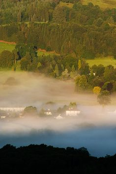 Hawkshead by Paul Moon Photography, via Flickr, Cumbria, UK  Hawkshead sits in the middle of the Lake District National Park and is surrounded by amazing views. Cars are not allowed in the lovely old village of Hawksead