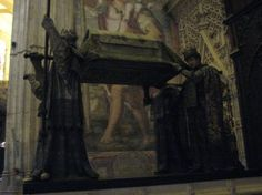 Christopher Columbus's tomb