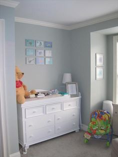 Don't need a nursery, but love the color palette