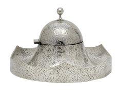 Koloman Moser for Wiener Werkstätte - Silver Inkwell Art Deco, Art Nouveau, Otto Wagner, Koloman Moser, Vienna Secession, Antique Decor, Art Google, Metal Working, Ink