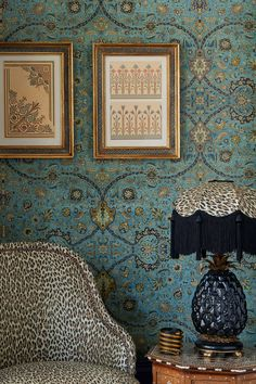Dining Room Wallpaper, Bold Wallpaper, Print Wallpaper, Blue Wallpaper Bedroom, Best Living Room Wallpaper, Wallpaper For Home Wall, Living Room Wallpaper Accent Wall, Bathroom Wallpaper Inspiration, Liberty Wallpaper