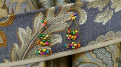Colorful Coconut Earring by YYworkshop on Etsy, $10.00