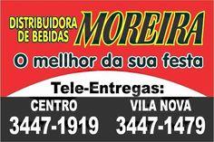 Eu recomendo Distribuidora de Bebidas Moreira- Centro, #Corumbaíba, #Goiás, #Brasil