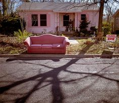 little pink house and a little pink sofa too! John Mellancamp would love it! Fernando Lopez, American Gothic, Southern Gothic, Up Girl, Carpe Diem, Small Towns, More Photos, My Images, Bunt