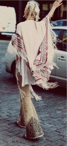 Boho Chic Boho fashion style outfit clothing design hippie spiritual bohemian