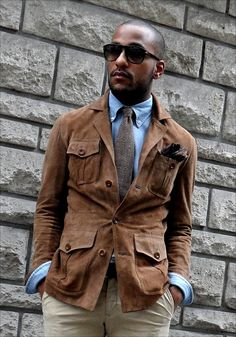 Les Frères JO' - Men's Style Inspiration: STREET LOOK - Snuff Suede